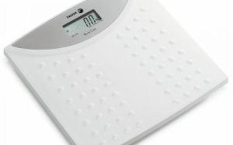 Elektronická váha FAGOR BB-160. Nosnost do 150 kilogramů a váží s přesností na 100g.