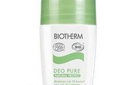 Kosmetika Biotherm Deo Pure Natural Protect BIO 75ml, účinně neutralizují zápach a spolehlivě vás chrání celých 24 hodin