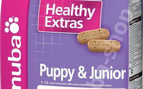 Eukanuba Healthy Extras Snack Puppy & Junior 0,7 Kg. Doplňkové krmivo pro štěňata od 1 do 12 měsíců.