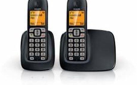 Domácí telefon Philips BeNear CD2902B. Mimořádně kvalitní zvuk.