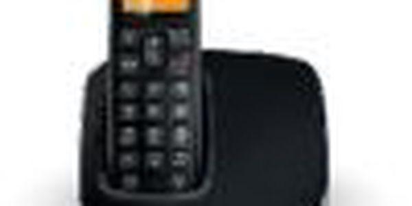 Telefon Philips BeNear CD1911B, vynikající kvalita hlasu