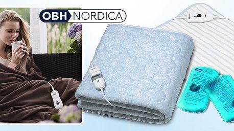 Vyhřívací deky a polštářky OBH Nordica