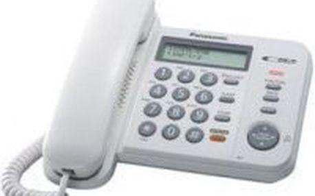 Domácí telefon PANASONIC KX-TS580FXW - LED indikace příchozího hovoru