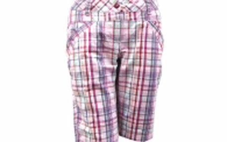 Dámské kalhoty ke kolenům LOAP 3/4 KENNA, kostkovaný vzor