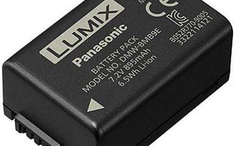 Akumulátor PANASONIC DMW-BMB9E. Pro digitální fotoaparáty Panasonic Lumix