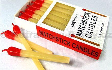 Dortové svíčky - zápalky. Už vás nudí obyčejné svíčky na dort?