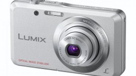 Digitální fotoaparát Panasonic DMC-FS28EP-S s optickým stabilizátorem obrazu