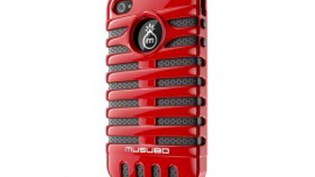 Pouzdro Musubo Elvis Apple iPhone 4/4S červené (MU11003RD)