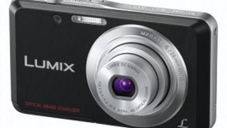 Fotoaparát Panasonic DMC-FS28EP-K zabraňující rozmazání v důsledku chvění rukou