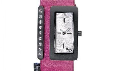 Dámské hodinky Betty Barclay Pink Leather Strap