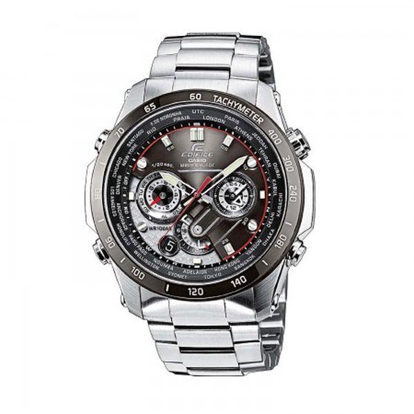 Oslnivé a luxusní pánské hodinky Casio EQW M1000DB-1A