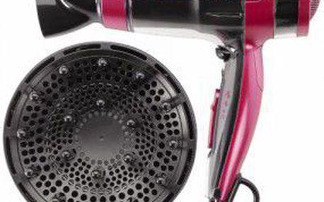 Vysoušeč vlasů Fagor SP 2505. Velmi tichý, tlačítko studeného vzduchu