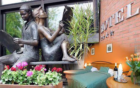 Jedna noc pro 1-2 osoby se snídaní v hotelu Expo**** v Praze