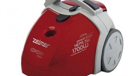 Podlahový vysavač Zelmer 450.O SP Odyssey. Ergonomické tvary, komfort použití a neotřelý design.