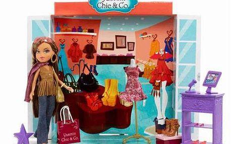 Hračka pro děvčátka MGA Butik Obchod a panenka Yasmin Chic & Co