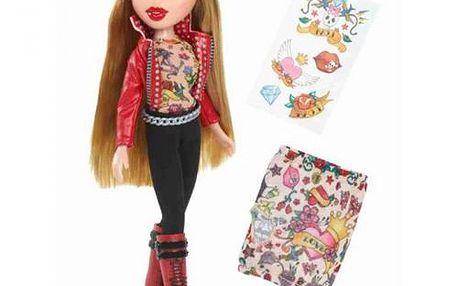 Panenka oblečená do modelu z umělé kůže - MGA Cloe Totally Tattoo'd