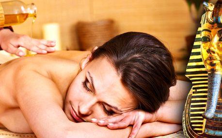 Léčivá masáž od zkušeného egyptského maséra