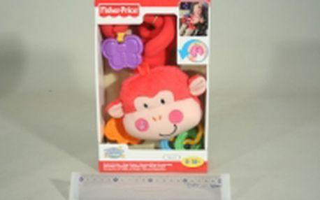 Fisher Price opička na kočárek X2919 pro zabavení miminka