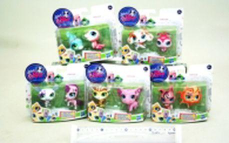 Littlest Pet Shop - 10 párů zcela nových naprosto talentovaných zvířátek