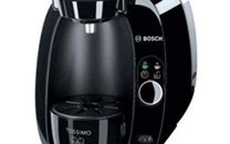 Espresso Bosch Tassimo TAS2002EE černý. Moderní a kompaktní design