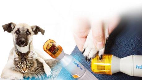 Pedi Paws BROUSEK NA ÚPRAVU DRÁPKŮ za pouhých 129 Kč! Revoluční přístroj vyvinutý v USA pro úpravu drápků psa nebo kočky bez bolesti a stresu! Sleva 68%!