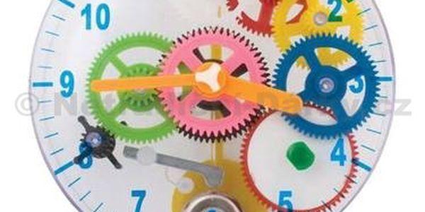 Sestav si své vlastní hodiny - skvělá hračka pro malé techniky