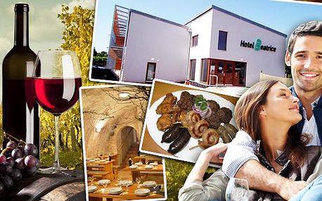 Vínne sklepy U Jeňoura gurmánske hody a degustácia vín!. Vychutnajte si bohaté gurmánske hody - NEOBMMEDZENÁ konzumácia sudového vína, stoly plné čerstvých domácich špecialít a degustácia vín. Zažite gastronomický raj!