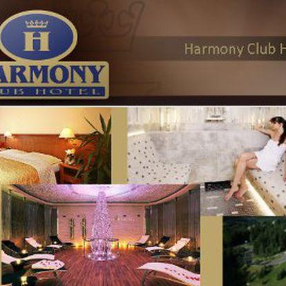 Luxusní pobyt ve Špindlu na 3 dny od 3990 Kč PRO DVA! Wellness hotel Harmony Club****!