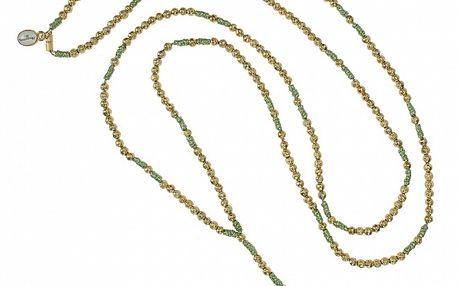 Dámsky zlatý ruženec Escapulario s hviezdicou