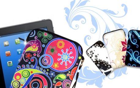 Originální obaly na Váš TABLET nebo iPAD za báječných 399 Kč včetně POŠTOVNÉHO! Pořiďte svému tabletu nebo iPadu nový ohoz! Neváhejte a oblečte jej do jedinečného a stylového neoprenového obalu!