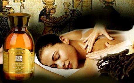 Léčivá 90ti minutová EGYPTSKÁ masáž od zkušeného egyptského maséra jen za 399,-Kč