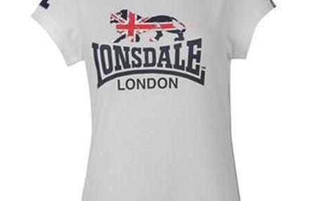 Dámské triko Lonsdale Flying The Flag Crew T Shirt Ladies