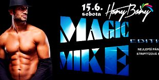 Žhavá striptýzová show Magic Mike Edition