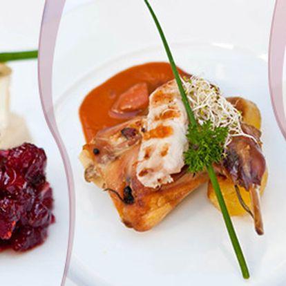 Degustační menu o 7 chodech pro dva labužníky
