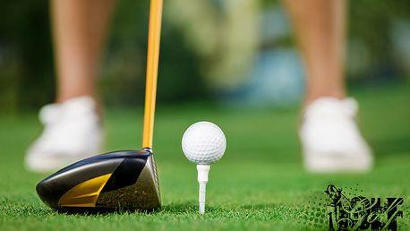 První den na golfu