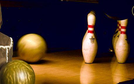 1 hodina bowlingu v Centru Chodov