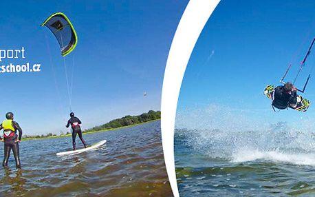 Adrenalinové kite kurzy včetně zapůjčení vybavení