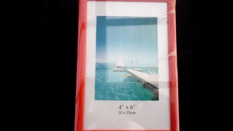 Fotorámeček 10x15 cm růžová