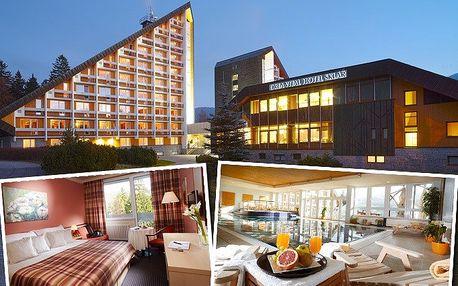 3denní pobyt pro 2 v přepychovém OREA Vital hotelu Sklář**** s mnoha wellness procedurami