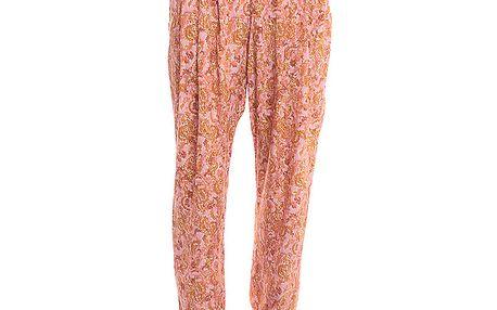 Dámské lehké kalhoty s lososovým vzorem 2two