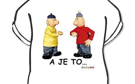 Tričko Pat a Mat (A je to) L