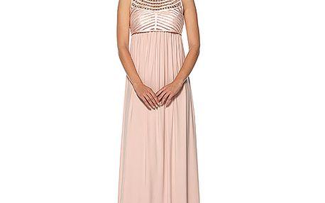 Světle růžové šaty Héra