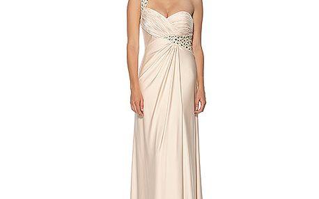 Smetanové šaty Anna