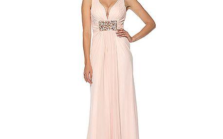 Meruňkové šaty Viviane