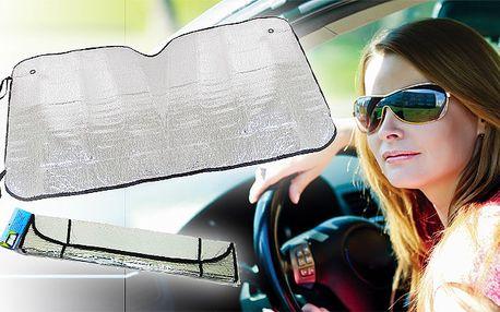 Alu folie na přední sklo automobilu