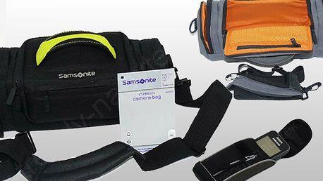 Pouzdra Samsonite na mobil, foťák nebo kameru