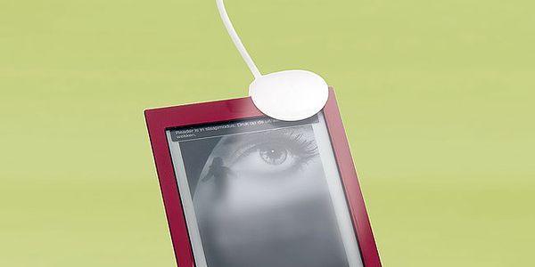 Lampička na e-book/knihu - jednoduše přichyťte ke knize pomoci klipu