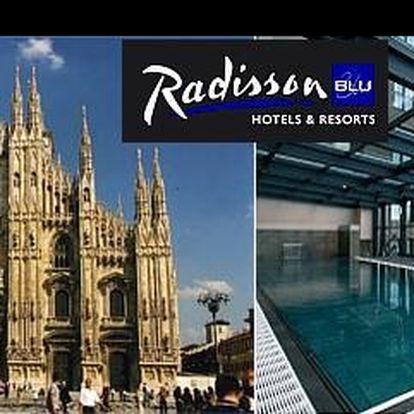 Vydejte se s námi do Milána, města módy a designu za poznáním, businessem nebo nákupy, s ubytováním exkluzivním hotelu Radisson Blu Hotel**** za 4 690 Kč.
