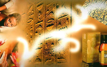 Úžasný zážitek! Rituál královny Kleopatry - celotělová a vysoce účinná masáž - 120 minut. Dopřejte si báječný zklidňující relax.