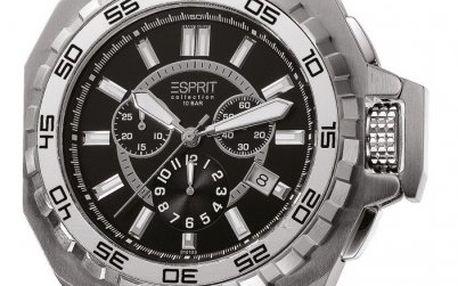 Luxusní pánské hodinky Esprit Collection asopos black EL101011F06 - II. jakost